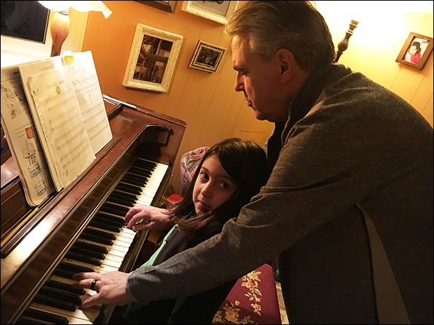 Dr. Smith Teaches Piano to Young and Old